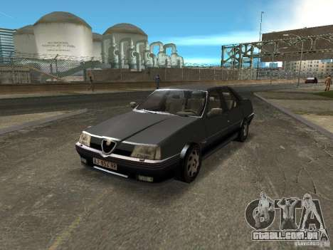 Alfa Romeo 164 para GTA Vice City vista direita