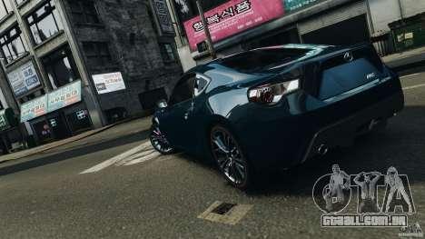 Scion FR-S para GTA 4 motor