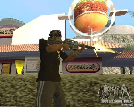 Munição incendiária para GTA San Andreas