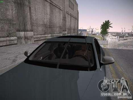 Audi RS6 2009 para GTA San Andreas vista traseira