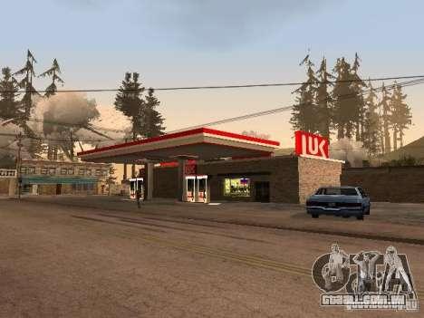 A aldeia de Ivanovka para GTA San Andreas nono tela
