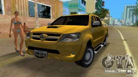 Toyota Hilux SRV 4x4 para GTA Vice City