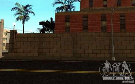 Novas texturas para o hospital em Los Santos para GTA San Andreas oitavo tela