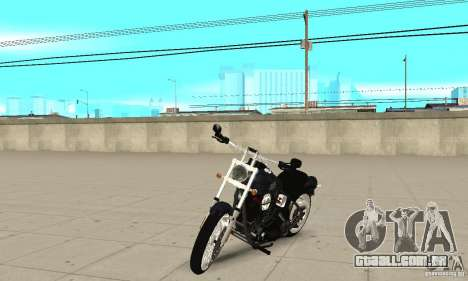 Harley Davidson FXSTBi Night Train para GTA San Andreas