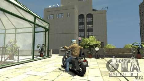 Zombie Bike Paintjob para GTA 4 traseira esquerda vista