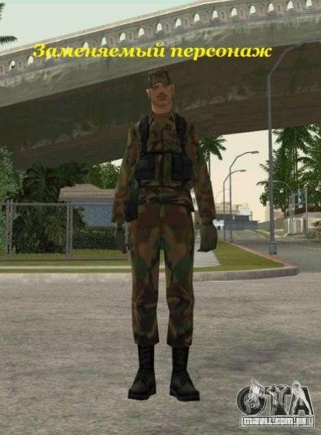 Peles de STALKER para GTA San Andreas décimo tela