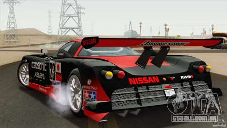 Nissan R390 GT1 1998 v1.0.1 para GTA San Andreas vista direita