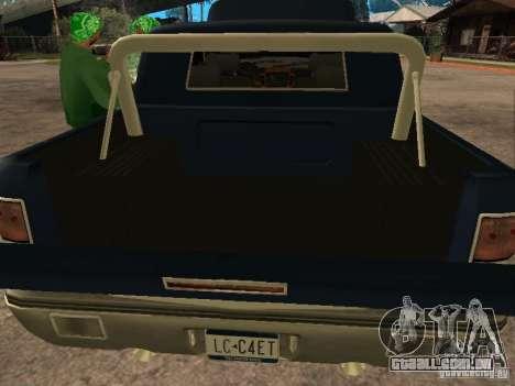HD Columb para GTA San Andreas vista traseira