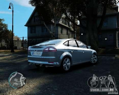 Ford Mondeo 2009 v1.0 para GTA 4 vista direita
