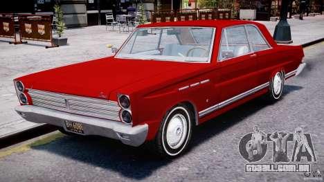Ford Mercury Comet 1965 para GTA 4 esquerda vista