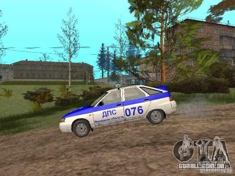 DPS VAZ 21124 para GTA San Andreas traseira esquerda vista