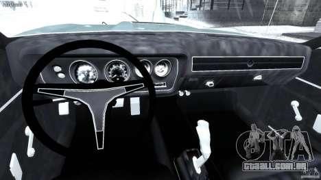Dodge Charger RT 1971 v1.0 para GTA 4 vista direita