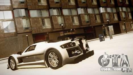 Gumpert Apollo Sport KCS Special Edition v1.1 para GTA 4 vista direita