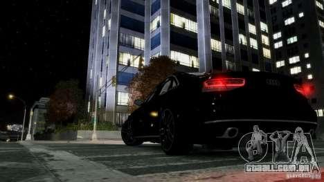 Audi A8 LED 2012 para GTA 4 vista de volta