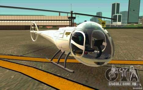 Dragonfly - Land Version para GTA San Andreas esquerda vista