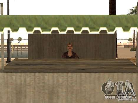 Mercado na praia para GTA San Andreas