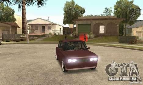 Estilo de rua VAZ 2106 para GTA San Andreas