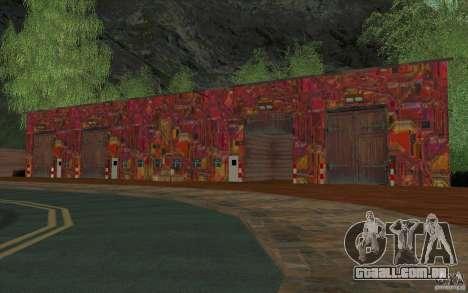 Uma aldeia nova Dillimur para GTA San Andreas oitavo tela
