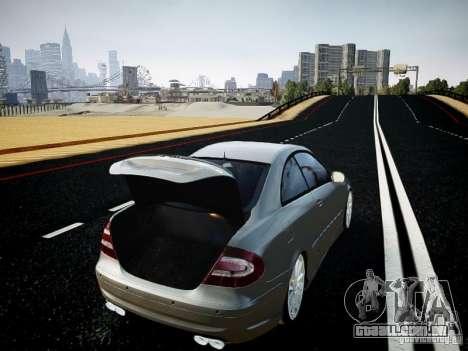 Mercedes-Benz CLK63 AMG Final para GTA 4 vista de volta