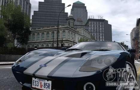Ford GT 2005 para GTA 4 traseira esquerda vista