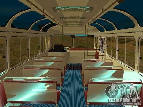 GROOVE versão 672.60 para GTA San Andreas vista traseira
