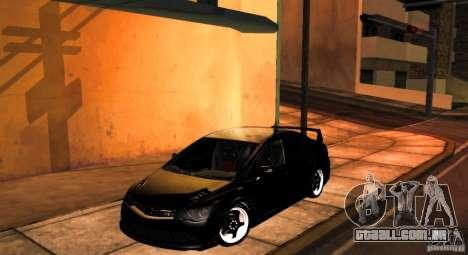 Honda Civic JDM para GTA San Andreas vista traseira