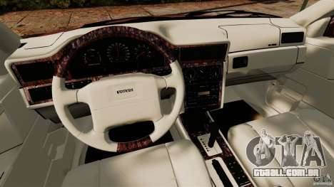 Volvo 850 Wagon 1997 para GTA 4 vista de volta