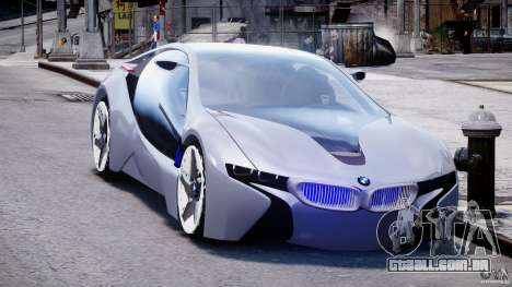 BMW Vision Efficient Dynamics v1.1 para GTA 4 vista de volta