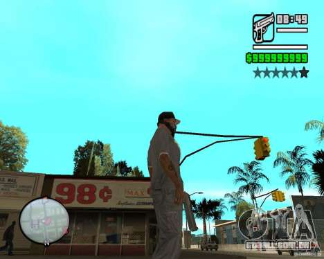 Change Hud Colors para GTA San Andreas oitavo tela