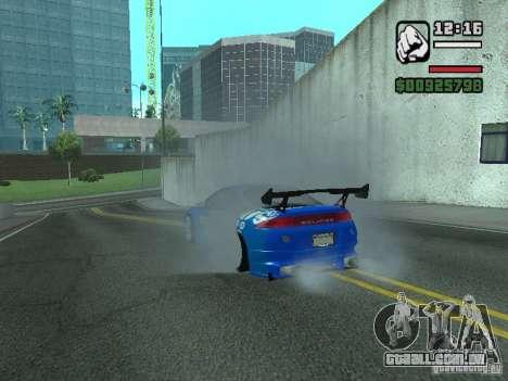 Mitsubishi Eclipse Tunning para GTA San Andreas vista direita