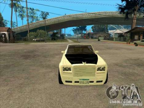 GTA 4 TBOGT Super Drop Diamond para GTA San Andreas vista traseira