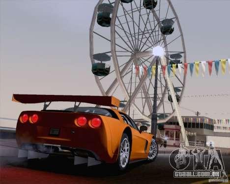 Optix ENBSeries para PC poderoso para GTA San Andreas sétima tela