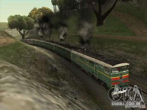 4TÈ10S-0013 para GTA San Andreas vista traseira