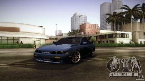 Nissan Silvia S14 Zenk para vista lateral GTA San Andreas