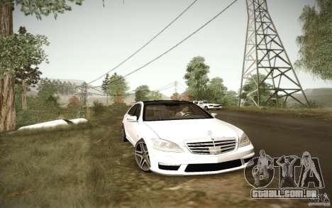 Beautiful ENBSeries para GTA San Andreas por diante tela