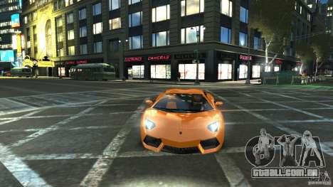 Lamborghini Aventador LP700-4 2011 EPM para GTA 4 vista de volta