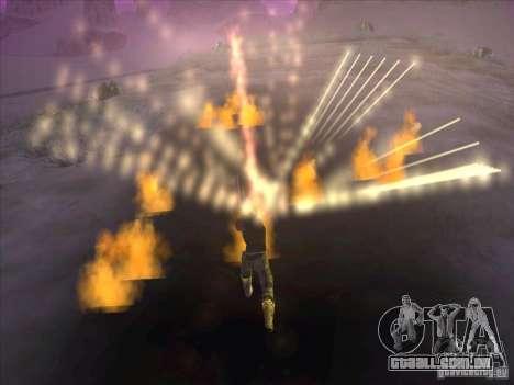 Espada de fogo para c Jay para GTA San Andreas por diante tela