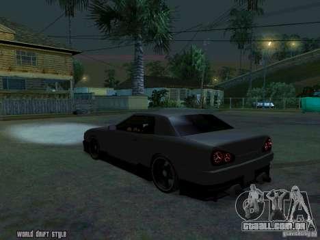 ELEGY BY CREDDY para GTA San Andreas esquerda vista