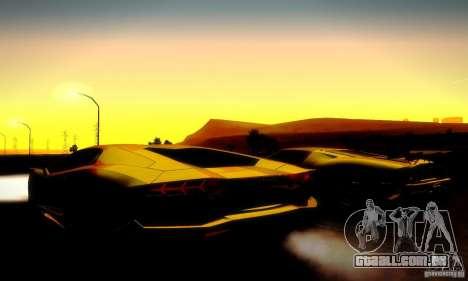 Drag Track Final para GTA San Andreas nono tela