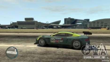 Aston Martin DBR9 para GTA 4 esquerda vista