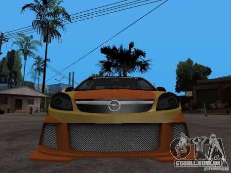 Opel Vectra para GTA San Andreas vista direita