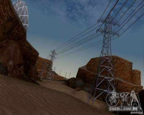 HQ Country N2 Desert para GTA San Andreas quinto tela
