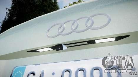 Audi RS6 2010 para GTA 4 vista lateral