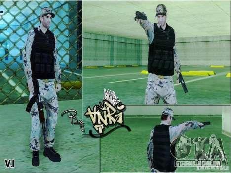 Army Soldier Skin para GTA San Andreas