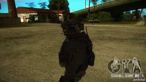 Sandman para GTA San Andreas por diante tela