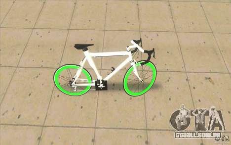 Fixie Bike para GTA San Andreas esquerda vista