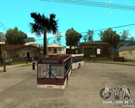 LIAZ 6213.20 para GTA San Andreas vista traseira