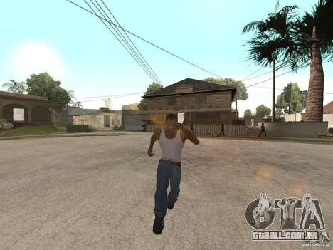 Awesome .IFP V3 para GTA San Andreas por diante tela