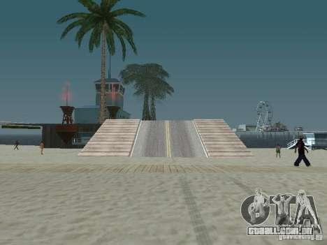 O mistério das ilhas tropicais para GTA San Andreas segunda tela