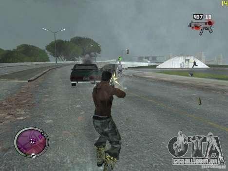 Nova zona GANGSTER para GTA San Andreas segunda tela